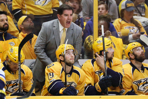 Nashville Predators' Coach Peter Laviolette Is In Elite Company