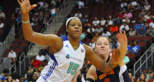 New York Liberty Activities Center Kia Vaughn