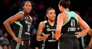 New York Liberty Upsets Minnesota Lynx With Stifling Defense