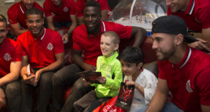 Toronto FC Puts A Smile On Children's Faces As They Give Back To The Community