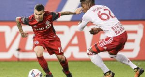 Short-Handed Toronto FC Grinds Out a 2-1 First Leg Victory vs New York Red Bulls