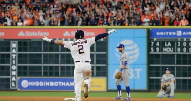 Five Great Moments From The 2017 World Series That Was One For The Ages
