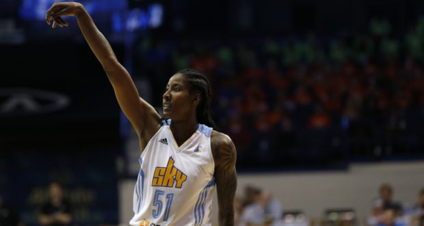 Atlanta Dream Sign Forward Jessica Breland