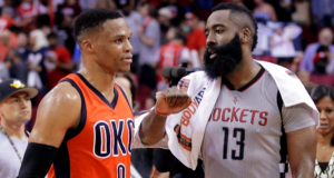James Harden and Russell Westbrook Numbers- Legend Or Myth