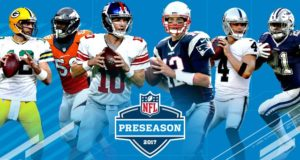 NFL PRESEASON DATES AND TIMES ANNOUNCED