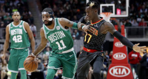 Hawks Tough Play Not Enough To Stop Celtics Win Streak Of 15
