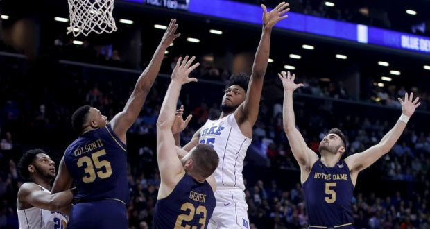 Duke's Second Half Surge Sinks Notre Dame