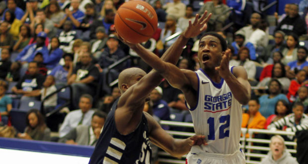 Georgia State Tops Georgia Southern 73-67 To Advance To Sun Belt Championship