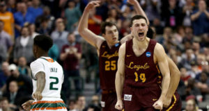 Loyola-Chicago Shocks Nevada To Advance To The Elite 8