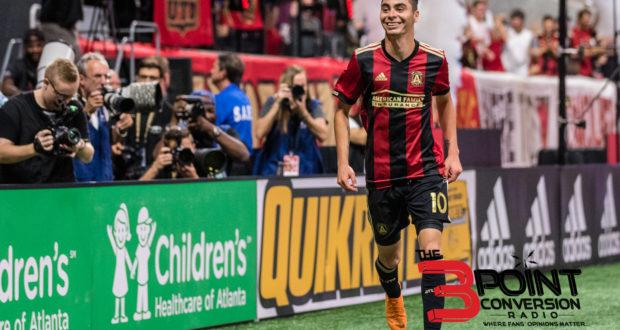 Miguel Almirón Week-to-Week With Left Hamstring Injury
