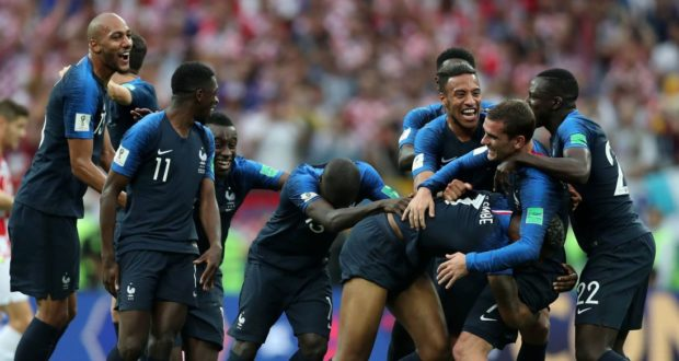 France Defeats Croatia 4-2 To Win 2018 World Cup