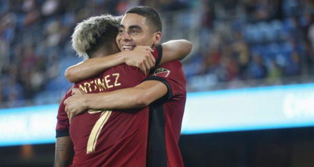 Martinez Caps Second-Half Comeback, Atlanta Defeats San Jose 4-3