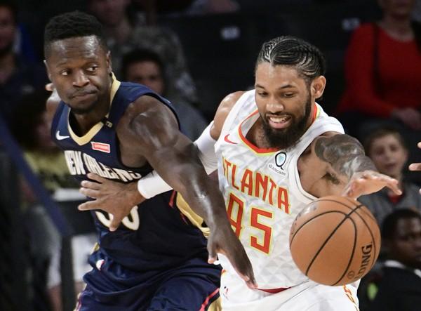 Hawks Get Their Feet Wet In Win Over The Pelicans