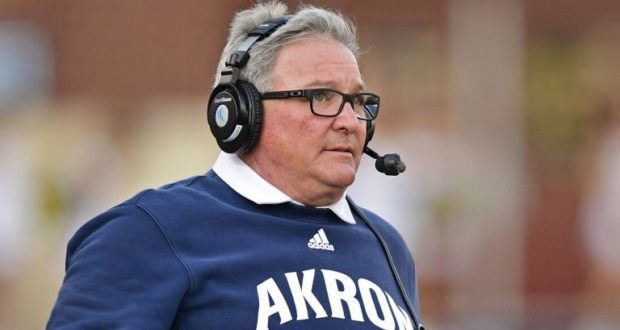 The University of Akron To Make Change At Head Football Coach Position