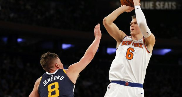 Dallas Mavericks aquire Kristaps Porzingis from Knicks